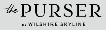 The Purser By Wilshire Skyline Logo