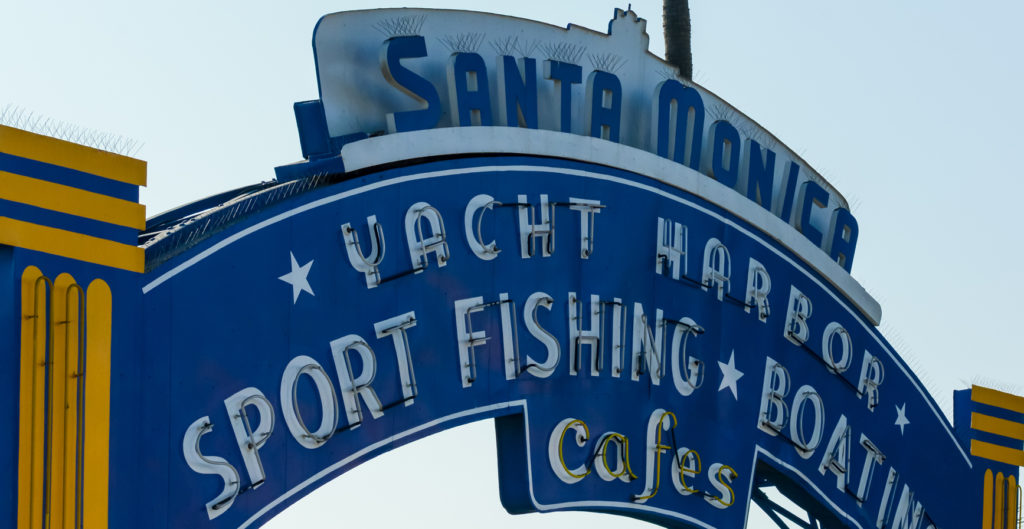 Santa Monica Fishing Pier